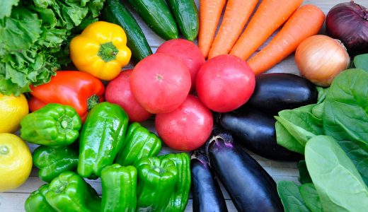 旬の野菜には旬の効能アリ!